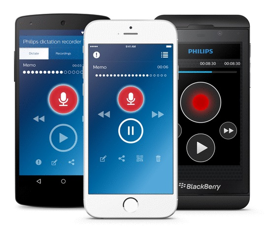 Philips SpeechLive Dictation Smartphone Hub